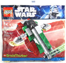Star Wars Lego Mini Slave 1 Brickmaster 76 pcs Bagged #20019