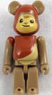 Star Wars Medicom Wicket Ewok Bearbrick Mini Figure