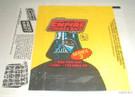 1980 Star Wars Topps ESB Series 3 Empty Wax Wrapper w/press sheet ad