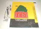 1983 Star Wars ROTJ Topps Series 1 Empty Wax Wrapper w/Jabba