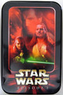 Star Wars Topps Ep1 Series 1 Widevision Qui Gon Tin Container, empty