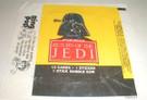 1983 Star Wars ROTJ Topps Series 1 Empty Wax Wrapper w/Darth Vader