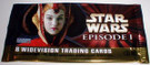 Star Wars Topps Ep1 Series 1 Queen Amidala Empty Wrapper