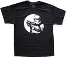 Star Wars Men's Stormtrooper Pointed Blaster Black T-Shirt Size L