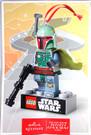 """2014 Star Wars Hallmark Poster Catalog Lego Boba Fett Poster 12x18"""""""