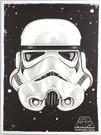 2014 Star Wars SD Comic Con Stormtrooper Promo Print / Poster Santa Cruz