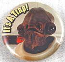 "Star Wars Admiral Ackbar It's A Trap Button 1.25"""