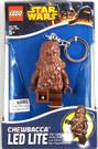 "Star Wars Lego Chewbacca Figure Key Chain / LED Key Light 3"""