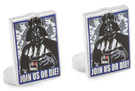 Star Wars Darth Vader Join Us Or Die Cufflinks in Box. Officially Licensed