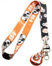 Star Wars BB-8 Droid Orange/Black Lanyard
