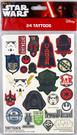 Star Wars 24 Count Tattoos Pack Classic Fett Vader Yoda