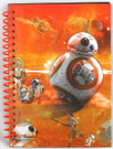 Star Wars Force Awakens BB-8 48 Sheet Spiral Journal / Notebook