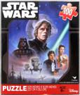 Star Wars ROTJ Luke Han Leia Art Scene 100pc Puzzle