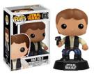 Star Wars Han Solo Funko Pop Bobble Head Vaulted Edition