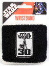 Star Wars 30th Anniversary Logo Sweat Wristband