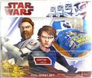 Star Wars Clone Wars Sheet Set (1 Flat, 1 Fitted, 2 Pillowcases) Full