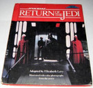 1983 Star Wars ROTJ step up movie adventure book, Hardcover, wear