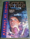 Star Wars Assault on Selonia Paperback novel