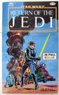 1983 Star Wars ROTJ Official Comics version Paperback (shows wear)