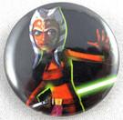 Star Wars Clone Wars Ahsoka Button
