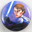 Star Wars Clone Wars Anakin Skywalker Button