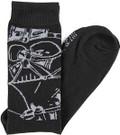 Star Wars Darth Vader Men's Crew Socks Shoe Size 6-12