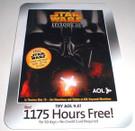 Star Wars Episode 3 ROTS America Online (AOL) Disk, sealed