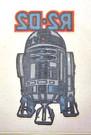1980 Star Wars Australia ESB R2-D2 Larger Iron On