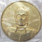 Star Wars California Lottery Exclusive C-3PO Metal Coin