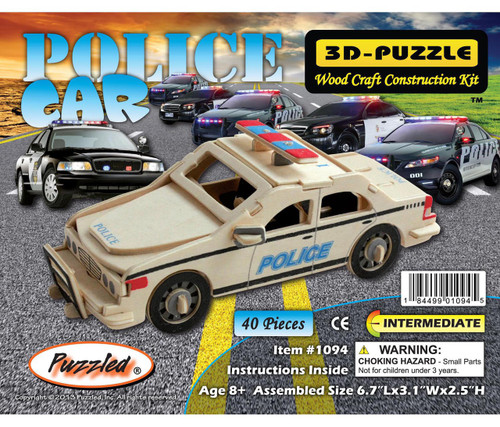 3D Puzzles Police Car