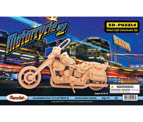 3D Puzzles Motorcycle