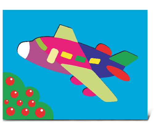 Fun Puzzle Jetliner