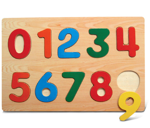 Raised Puzzle Small Numbers