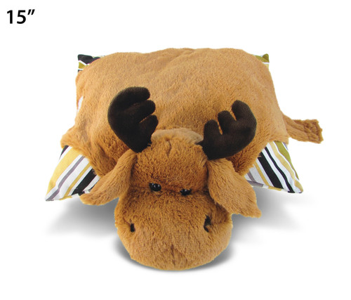 Stylish Plush Pillow - Moose