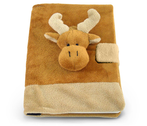 Plush Notebook Moose