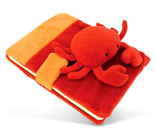 Plush Notebook Red Crab
