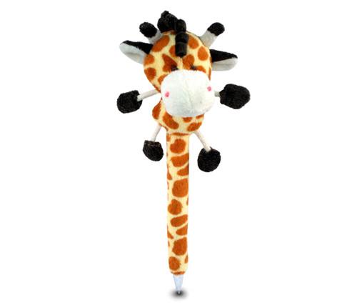 Plush Pen Giraffe