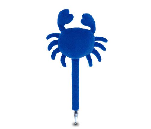 Plush Pen Blue Crab