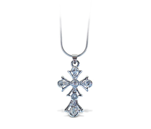 Sparkling Necklace Cross