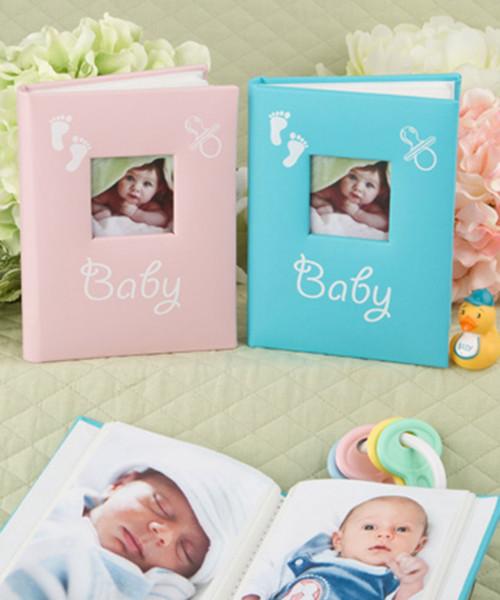 Blue and Pink Baby Brag Book Photo Album - Set of 2 Photo Album