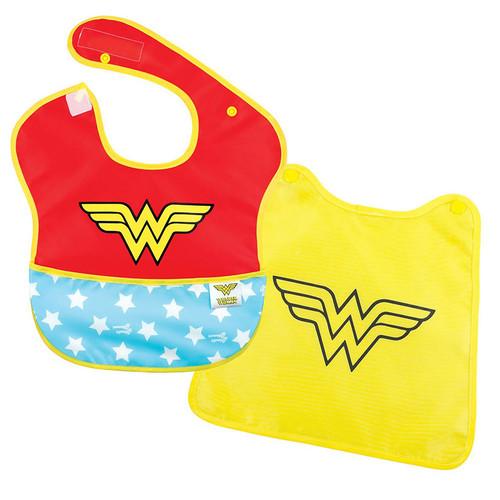 DC Comics Wonder Woman Caped Super Bib Baby Accessories