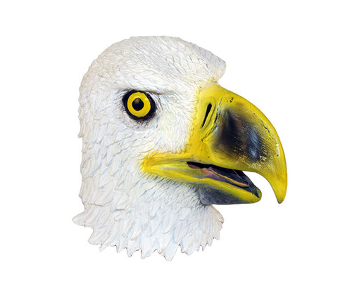 White American Eagle High Quality Latex Animal Mask Costume & Accessories