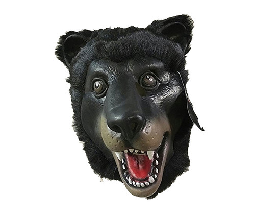 Black Bear Realistic Costume Mask Costume & Accessories
