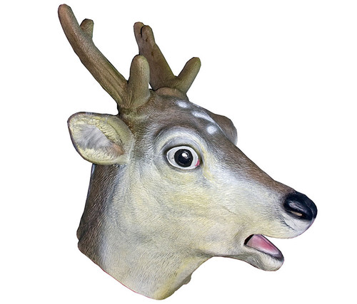 Brown Deer High Quality Animal Latex Mask Costume & Accessories