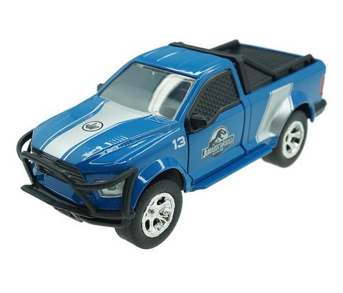 Jurassic World Die Cast Toy Truck - Blue Toy Truck