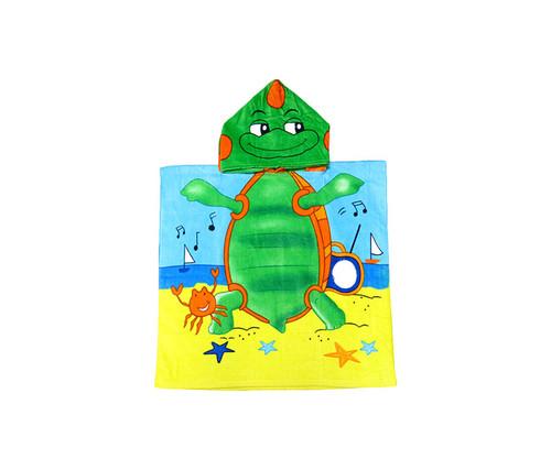 Kids Turtle Hooded Bath Towel Bath Towels