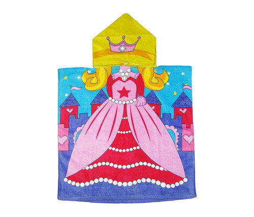 Kids Princess Hooded Bath Towel Bath Towels