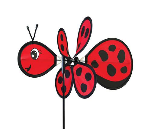 Ladybug Baby Wind Spinner Garden Spinner
