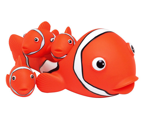 Clown Fish Bath Family Bath Toy