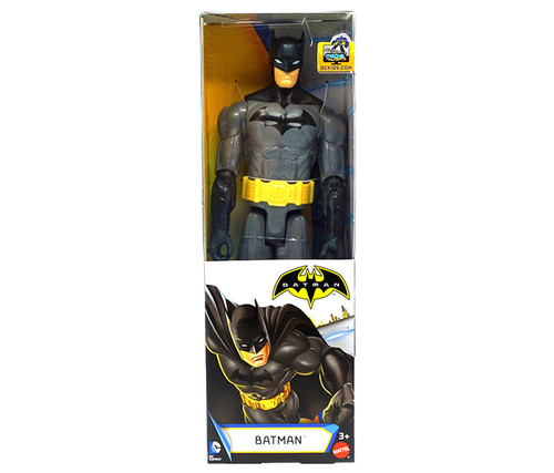 Batman Action Figure 12 inches - Black/Grey Action Figure